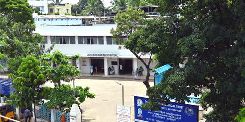 Dr.Jeyasekharan Hospital Main Blocks