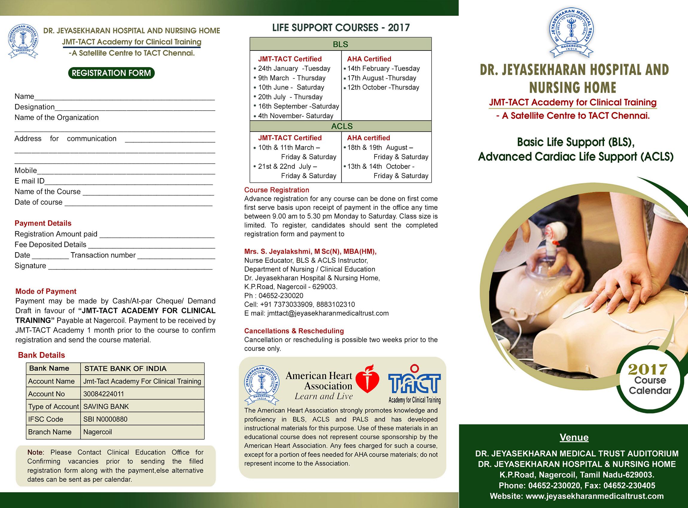 Aha Certified Basic Life Support Bls Course Dr Jeyasekharan
